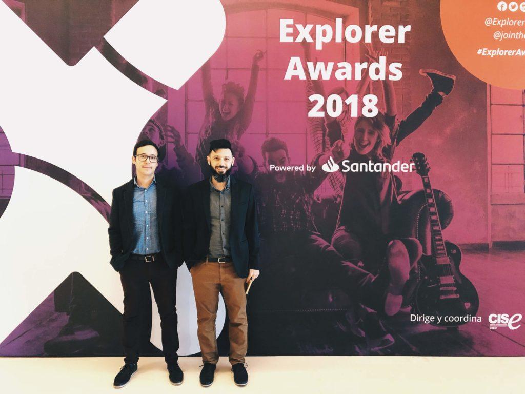 Trovant Technology, ganadores del Segundo premio en los Explorer Awards 2018 por nuestro proyecto Biografeno