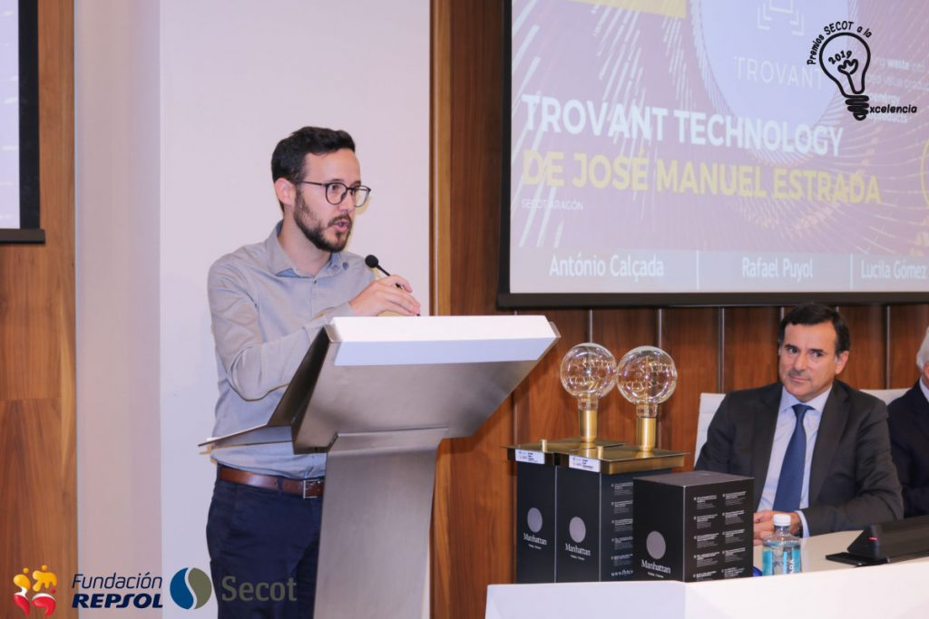 Trovant Technology, accésit en los Premios SECOT a la Excelencia 2019